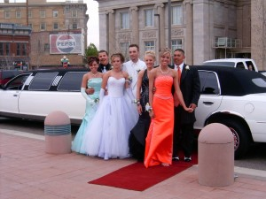 Prom Party Bus Limo in Boston