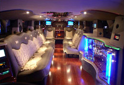 Boston Party Bus Interior